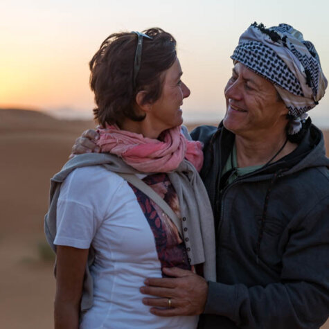 Fatima & Alibaba (so haben die Marokkaner uns genannt