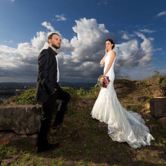 Brautpaar-Shooting, Hochzeitsfotograf Saarlouis Saarland, Dirk Theis, Bilder und Perspektiven