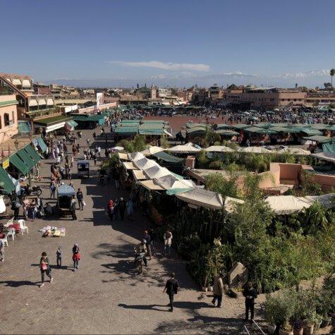 Marrakesch, Zentrum