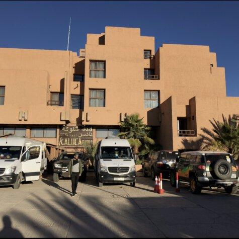 Zwischenstop im Hotel Xaluca, Dadés